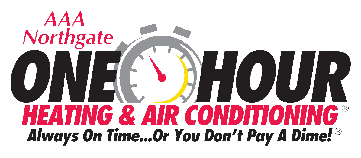 aaa northgate one hour heating & air conditioning logo