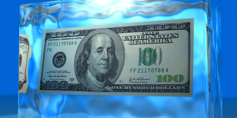 AAA Northgate One Hour Heating and Air, Cool cash money frozen in ice block, Peoria, IL